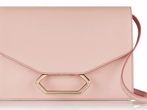 Victoria-Beckham-Money-Clutch-Shoulder-Bag-Pink