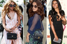 Celebrities Are Hot on the Promotional Trail & No Good Bags Will Be Left Behind