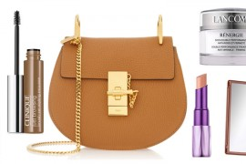 Bags and Beauty: The Perfect Fall Beauty Look for Chloé Drew Bag Lovers
