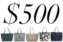 5 Under $500: Love Tory Burch Tote Bags