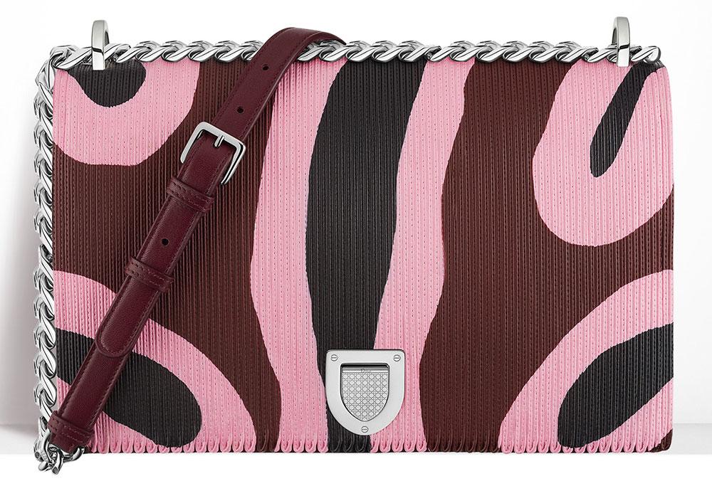 Christian-Dior-Diorama-Bag-Printed-Patchwork-Leather-Pink