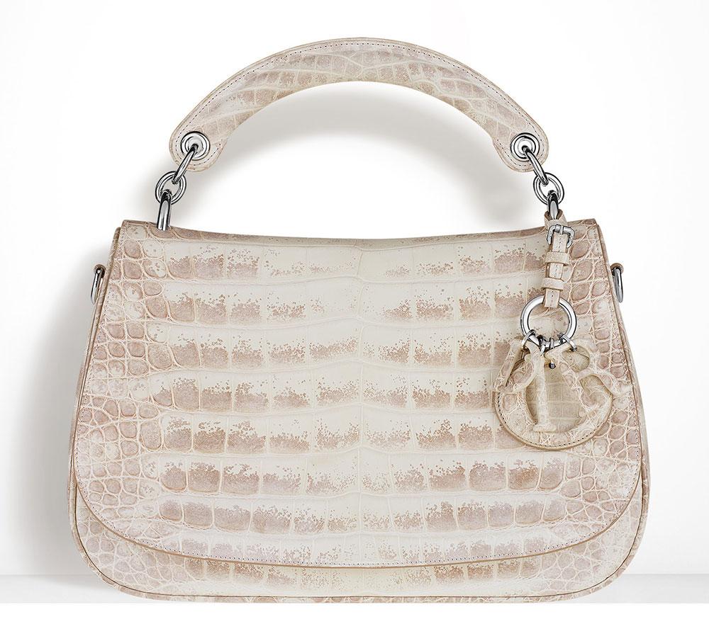 Christian-Dior-Dune-Bag-Alligator-Multi