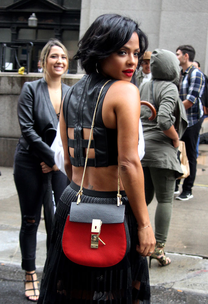chloe grey bag - 76 Bags and the Celebrities Who Carried Them to New York Fashion ...