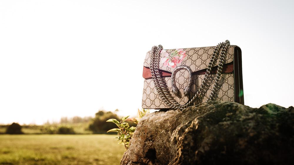 Gucci Dionysus Blooms Print Shoulder Bag
