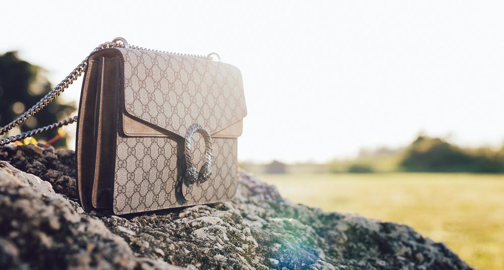 Gucci Dionysus GG Supreme Shoulder Bag,