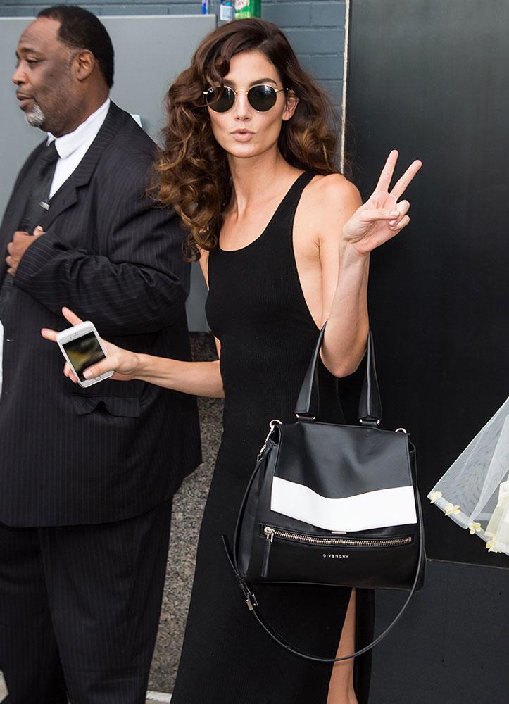 Lily-Aldridge-Givenchy-Pandora-Pure-Bag