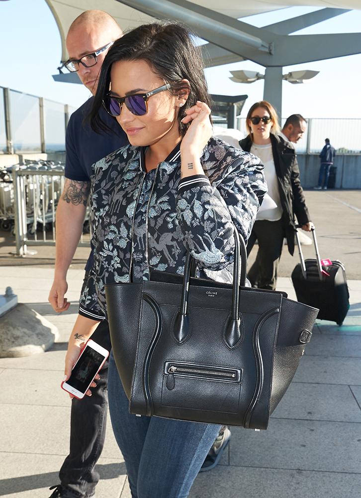 celebrities with celine handbags