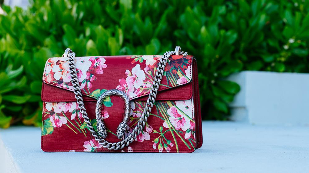 Gucci Dionysus Blooms Bag in Red