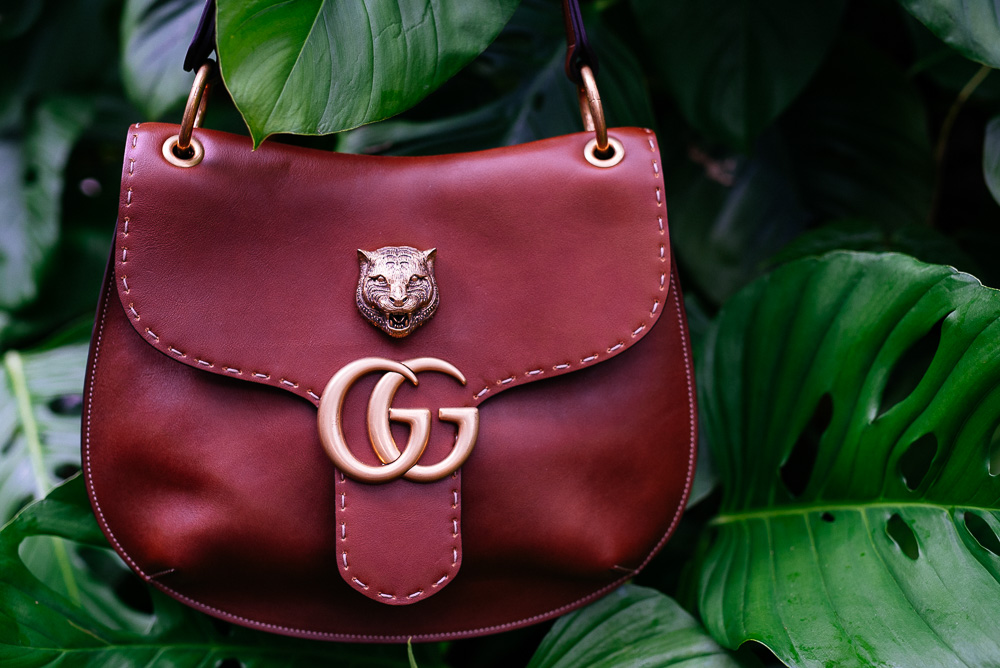 Gucci GG Marmont Shoulder Bag in Brown,