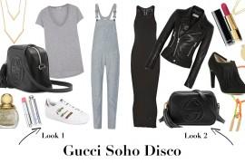 One Bag, Two Ways: Gucci Soho Disco Bag in Black