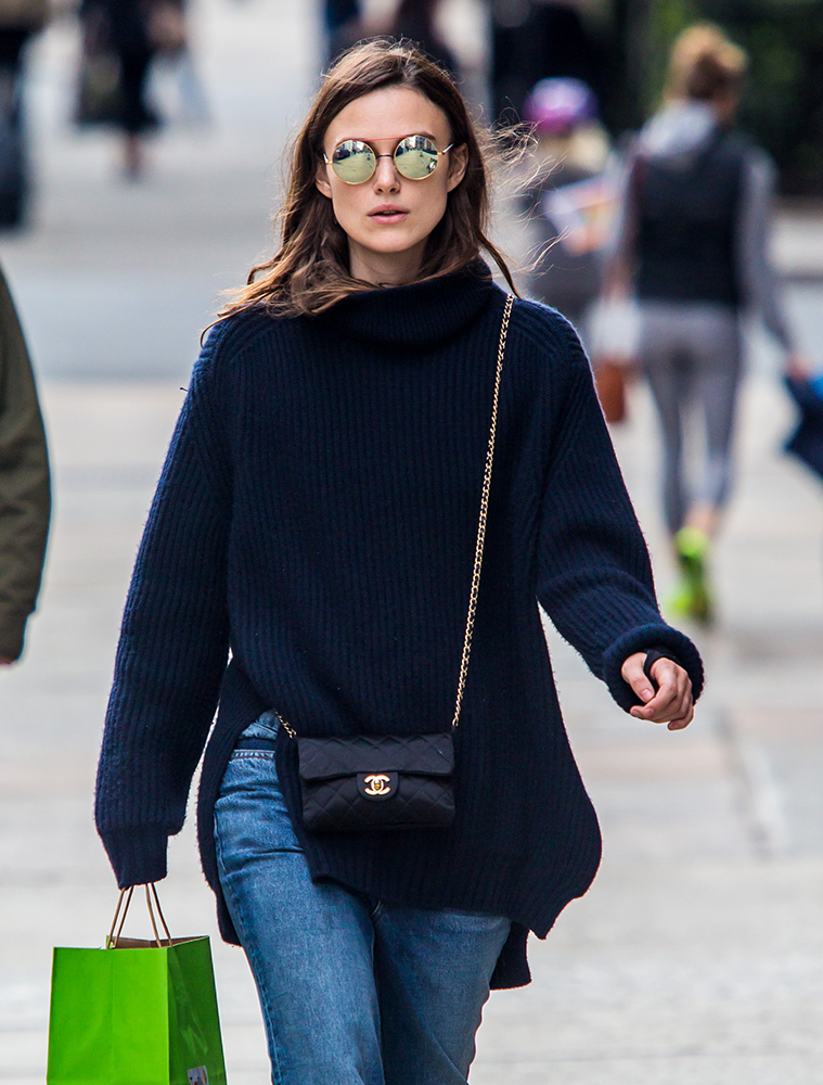 celebs have the blues with bags from c line armani givenchy more purseblog. Black Bedroom Furniture Sets. Home Design Ideas