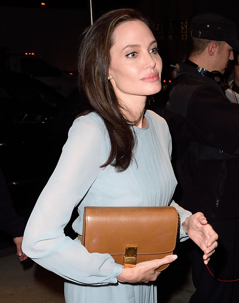 Angelina-Jolie-Celine-Classic-Box-Bag