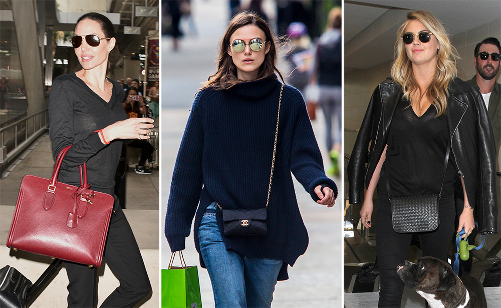 Celebs Have The Blues With Bags From C 233 Line Armani