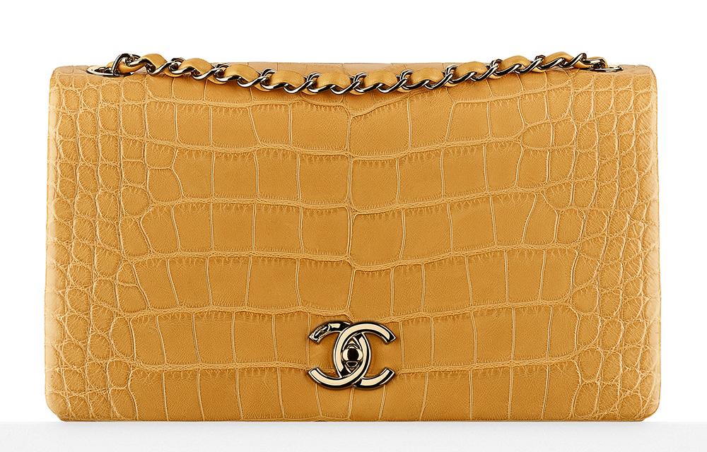 Chanel-Alligator-Flap-Bag