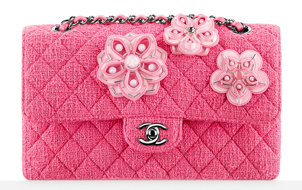 Chanel-Flower-Embroidered-Tweed-Classic-Flap-Bag