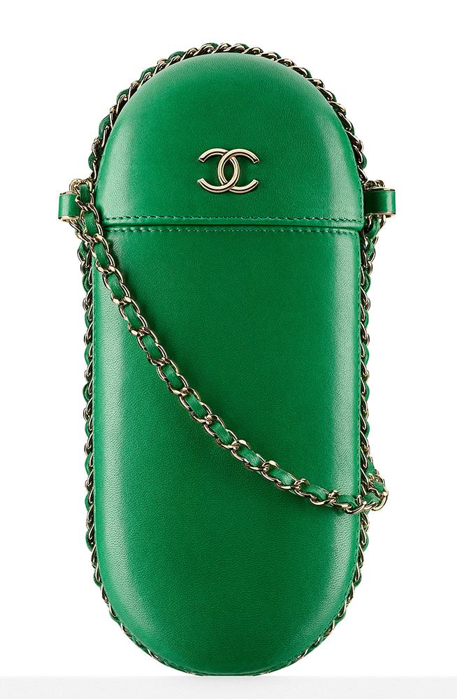Chanel-Glasses-Case-Green-1950