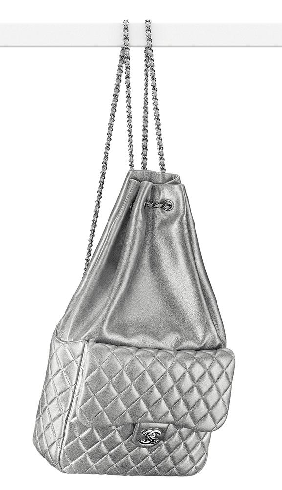 Chanel-Large-Metallic-Flap-Backpack-3500