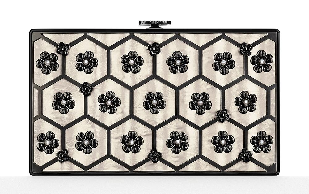 Chanel-Plexiglass-and-Brass-Floral-Minaudiere