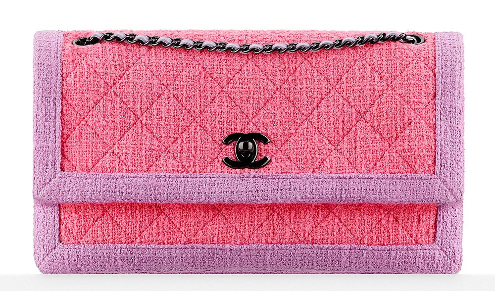 Baby Pink Chanel Purse Prada Saffiano Lux Tote Red
