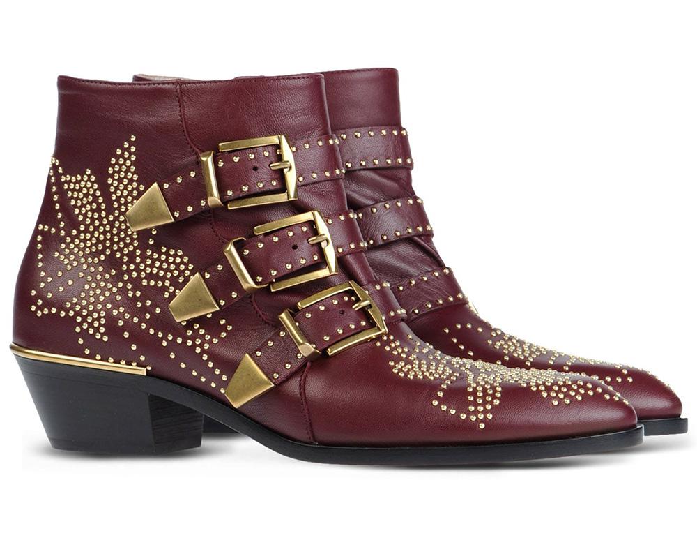 Chloé Studded Suzanna Boots