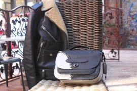 Perfect Pairs: Coach Link Messenger Bag and Coach Boys Bikers Jacket