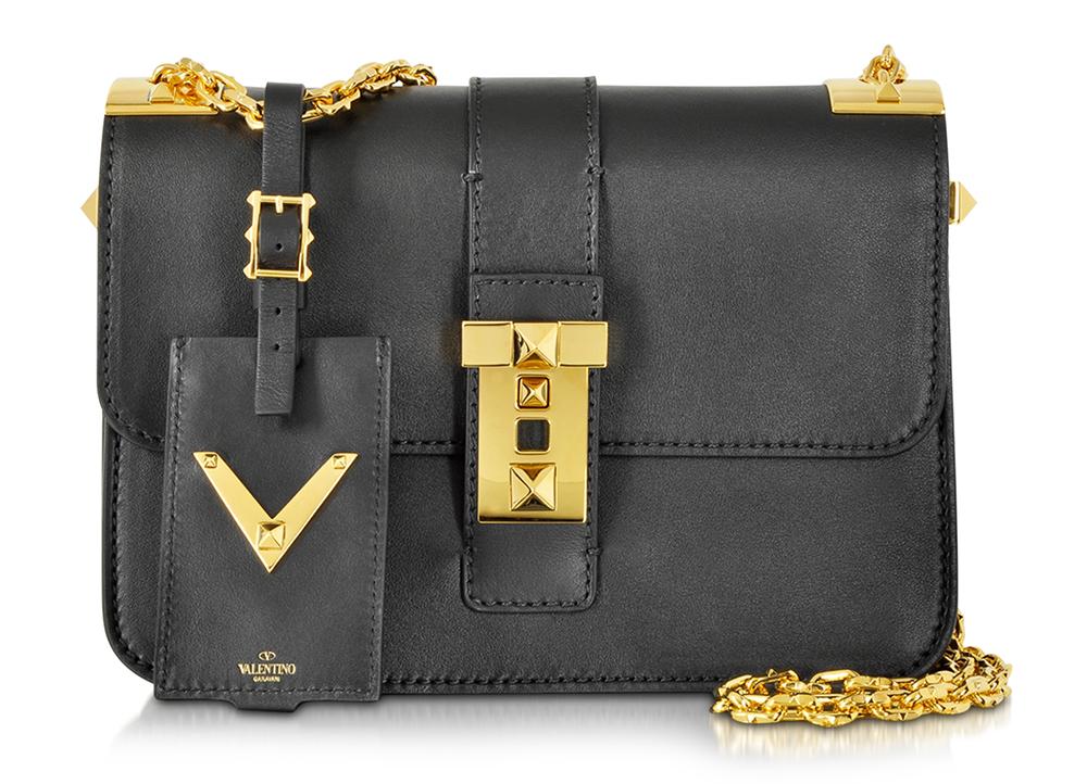 Valentino My Rockstud Shoulder Bag, $3,375 plus 25% off via Forzieri
