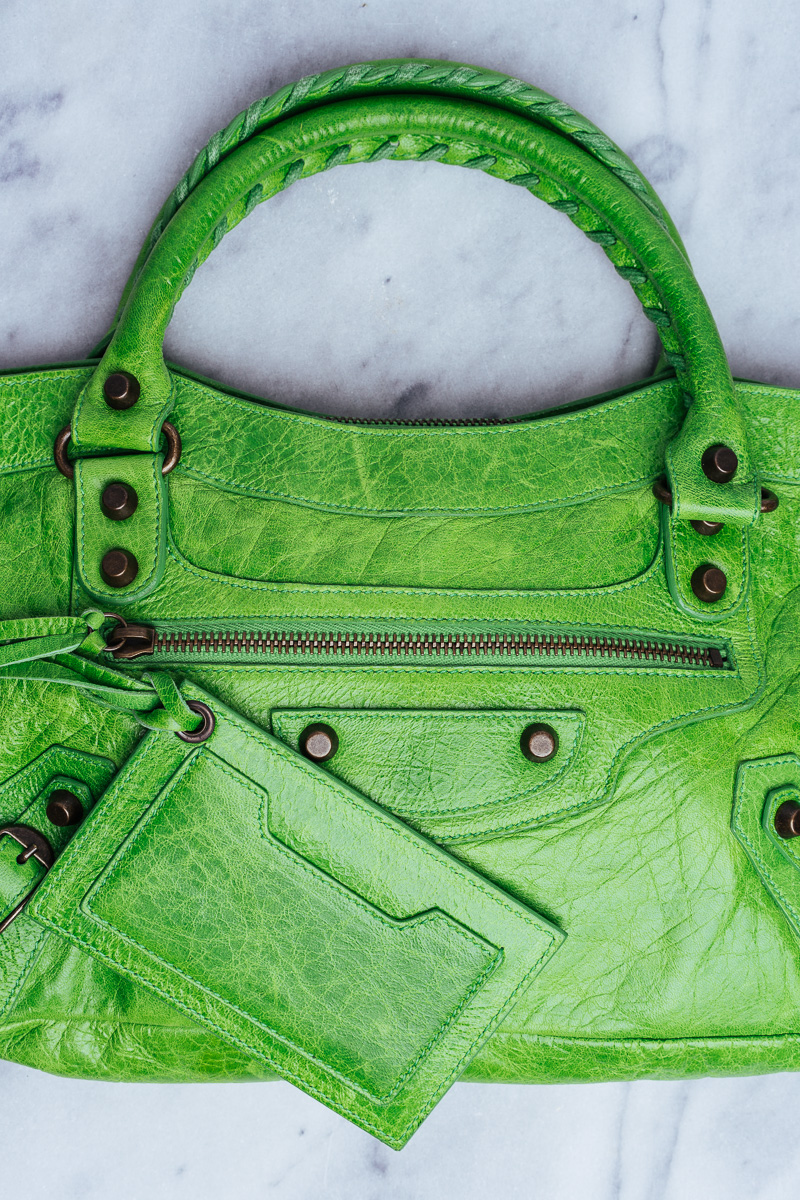 Rare Balenciaga Bag Apple Green