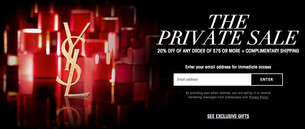 Yves-Saint-Laurent-Beauty-Private-Sale