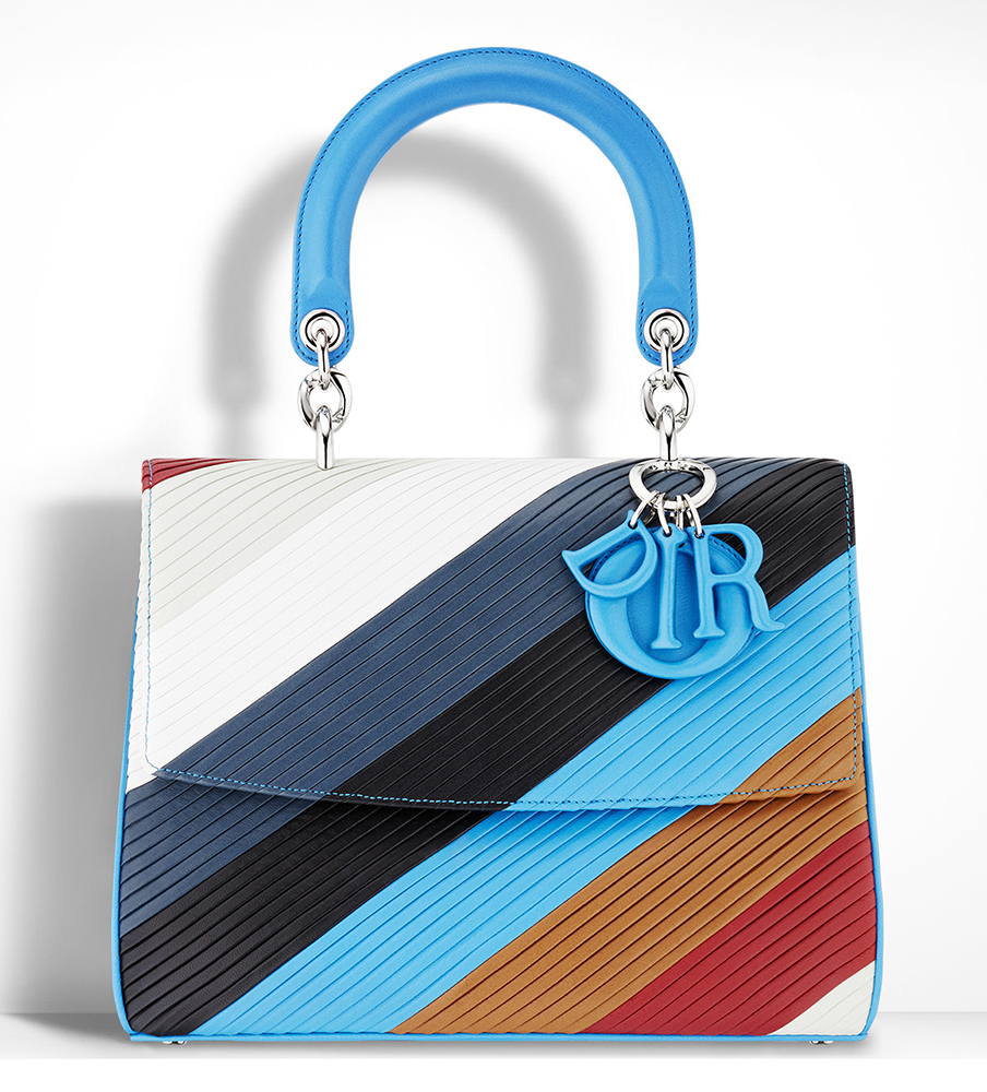 Christian-Dior-Be-Dior-Pleated-Leather-Bag