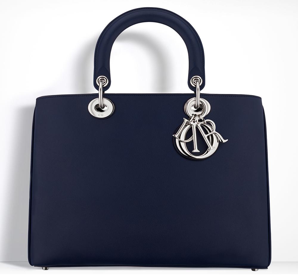 Christian-Dior-Diorissimo-Bag-Navy