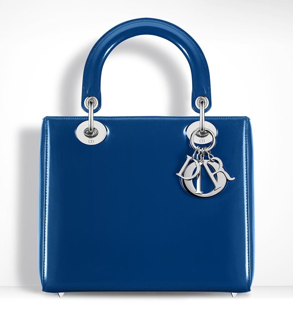 Christian-Dior-Lady-Dior-Blue-Patent