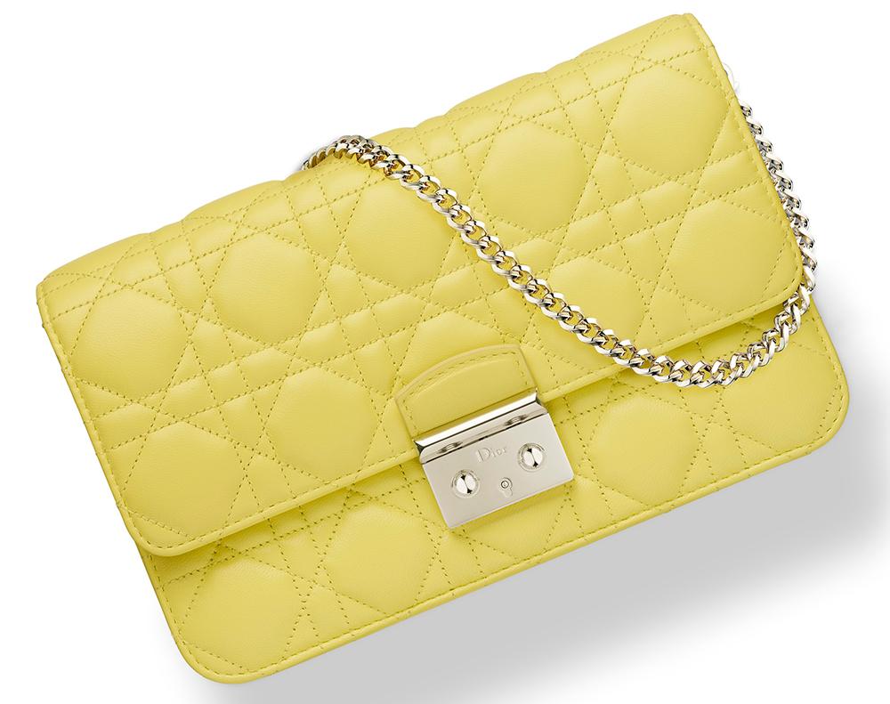 Christian-Dior-Miss-Dior-Promenade-Pouch-Yellow