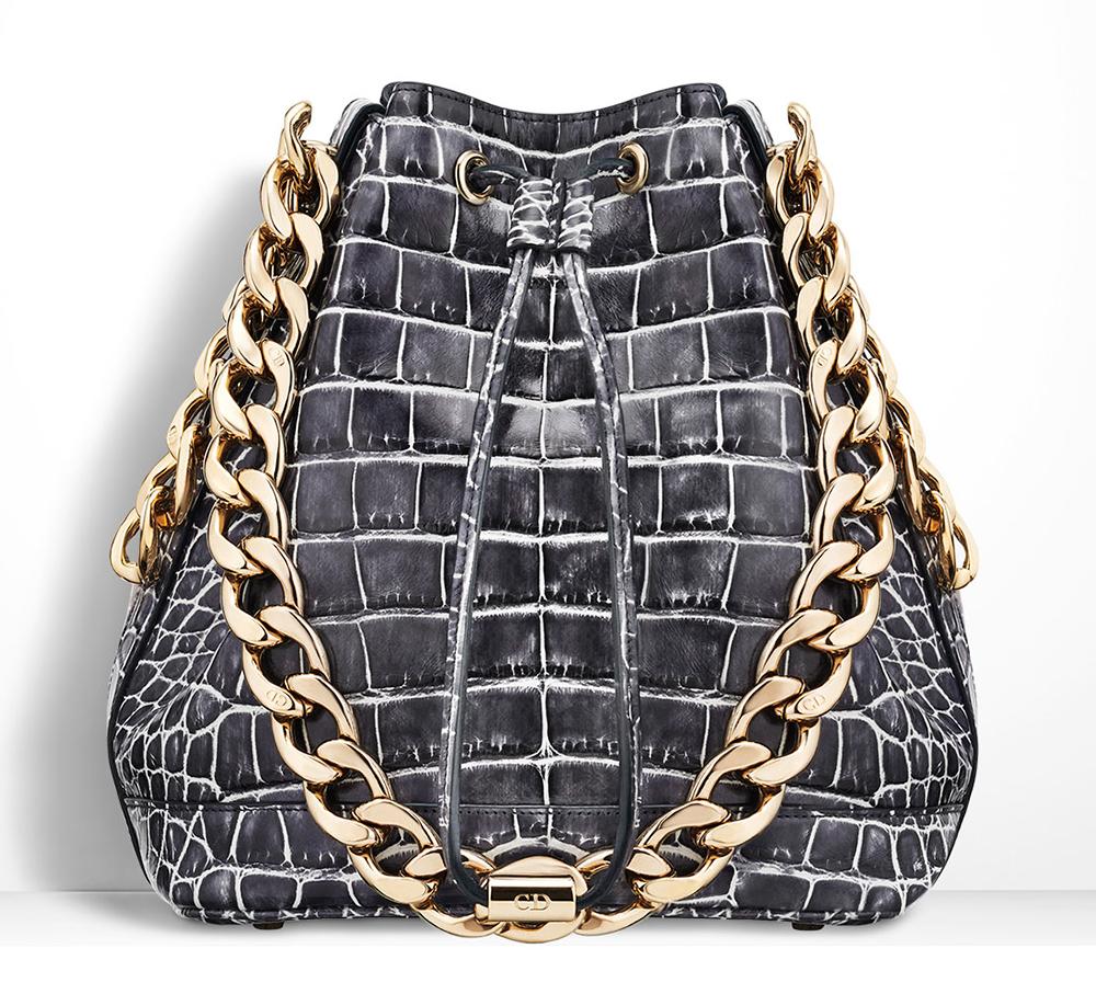 Christian-Dior-Small-Dior-Bubble-Alligator-Bag