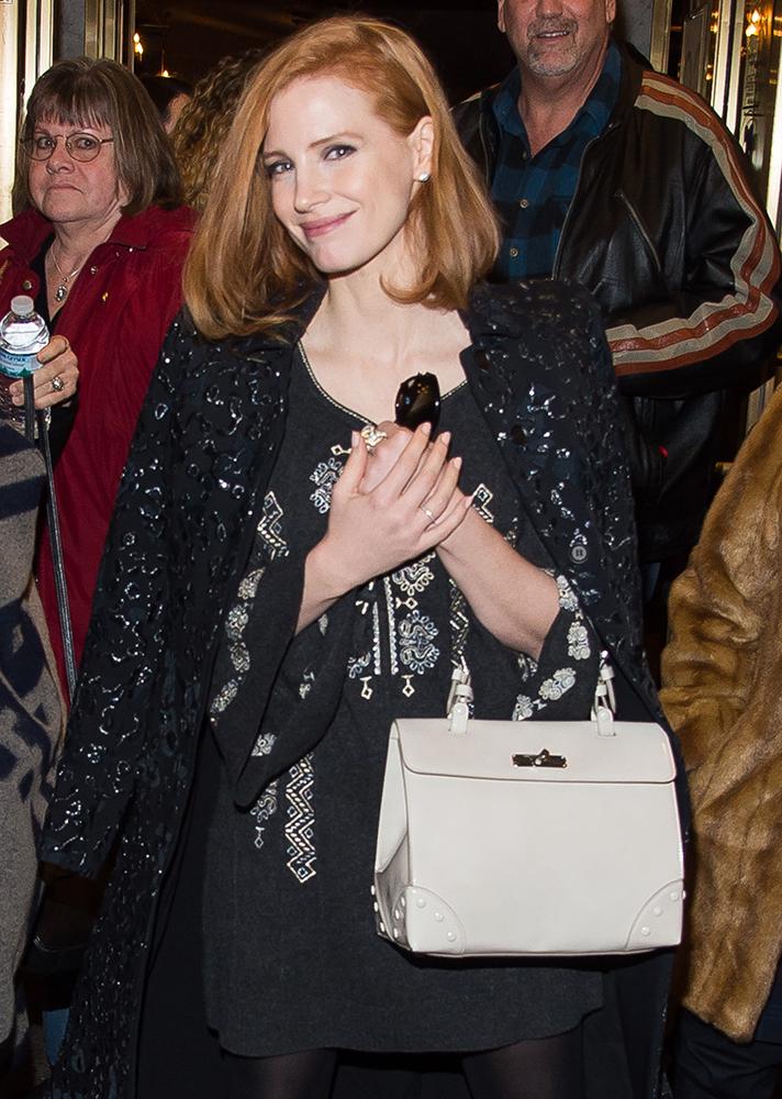 Jessica-Chastain-Ralph-Lauren-Tiffin-Bag