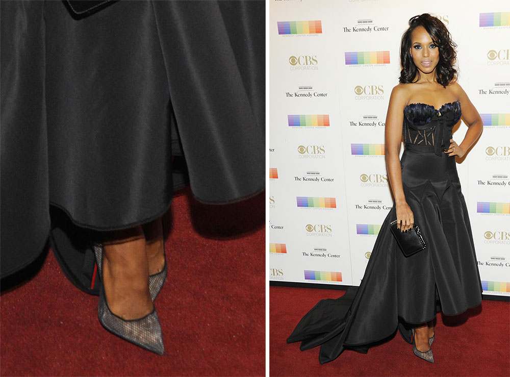 "pink louboutins shoes - Platform Pumps & PVC Heels: Celebs Had An ""Everything Old is New ..."