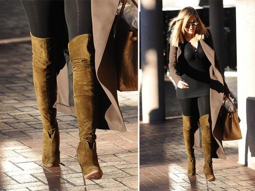 Khloe-Kardashian-Aquazzura-Giselle-Suede-Boots