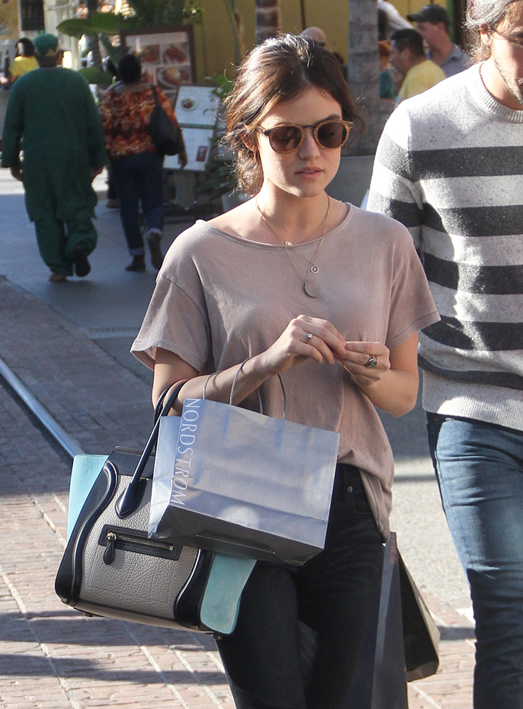 Lucy-Hale-Celine-Luggage-Tote