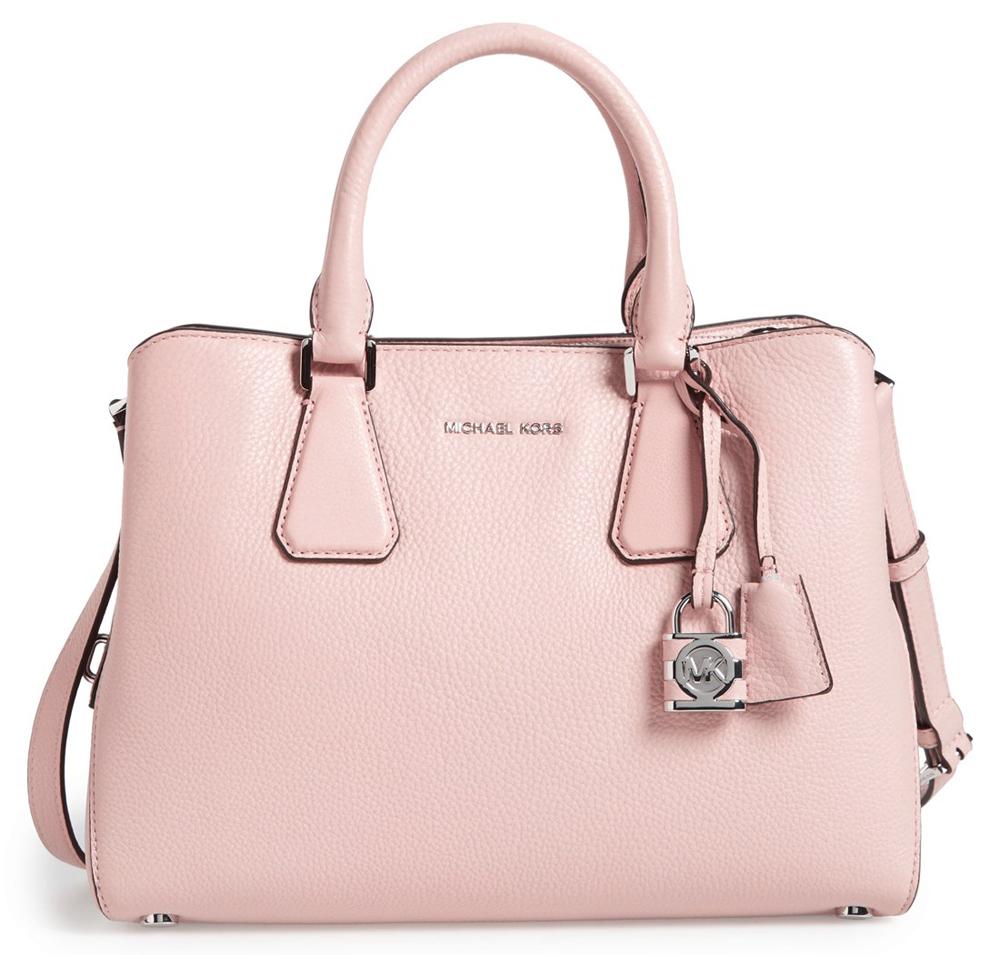 292fa4040c5b5a michael kors summer blue purse large skorpios grained shoulder bag ...