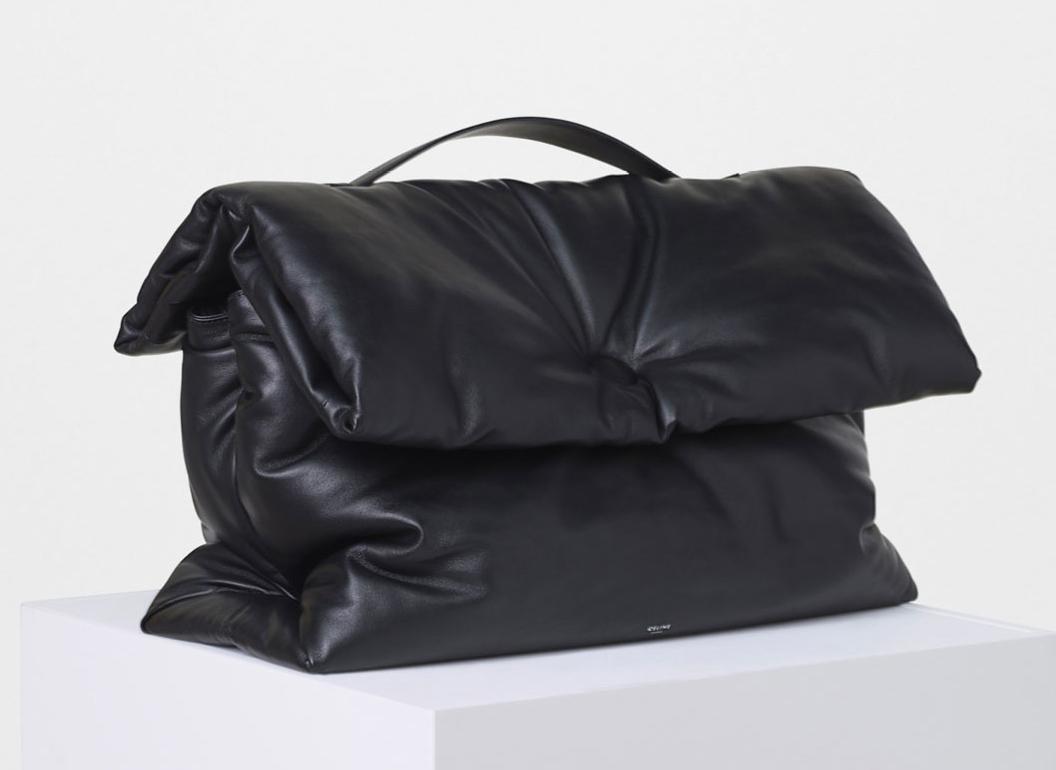 Celine-Large-Cartable-Pillow-Handbag-3900