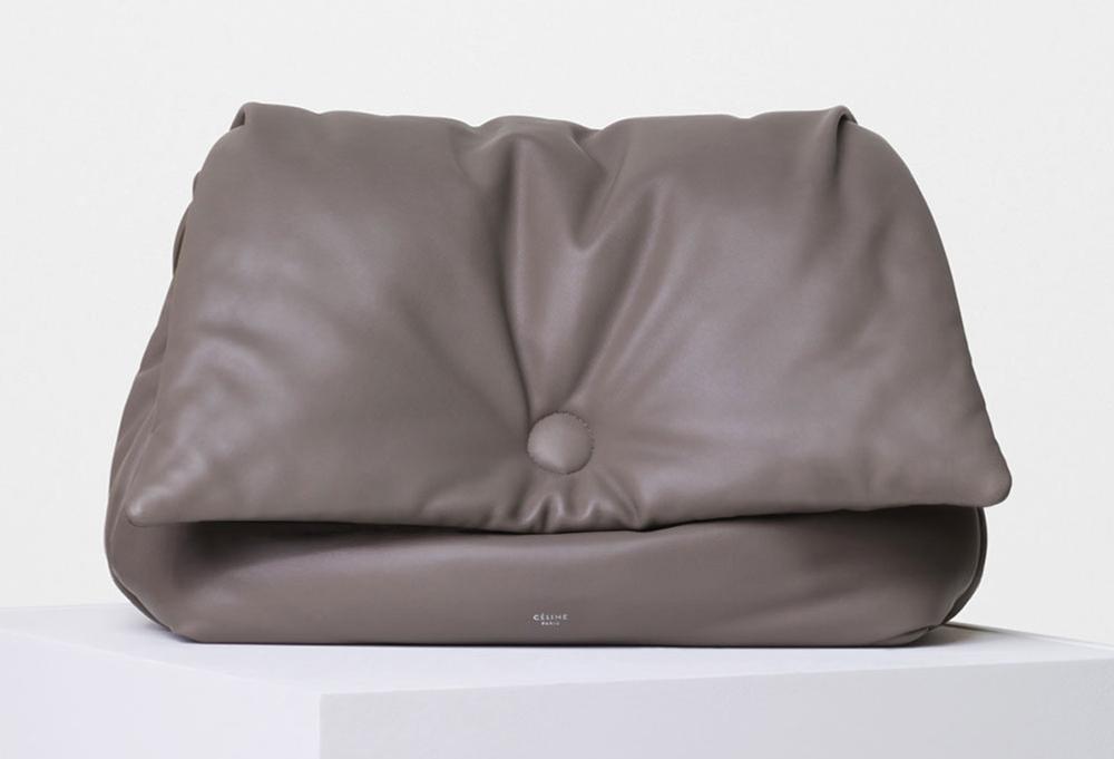 8e6a4532a5 ... Leather Gold Hardware Alma Style Top Handle Satchel .. zara shopper bag  replica - Check out 50+ Photos of Celine s Gorgeous Spring 2016 Bags  shoulder ...