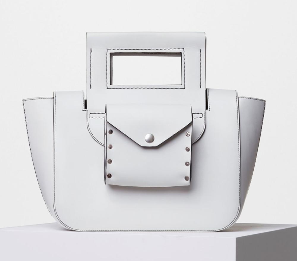 Celine-Medium-Square-Handbag-White-3500