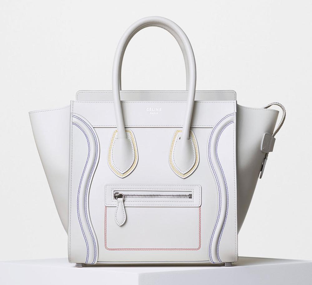 celine luggage popular colors