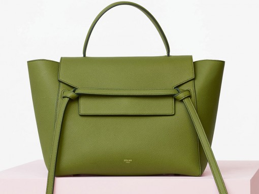 Celine-Mini-Belt-Bag-Green-Feature