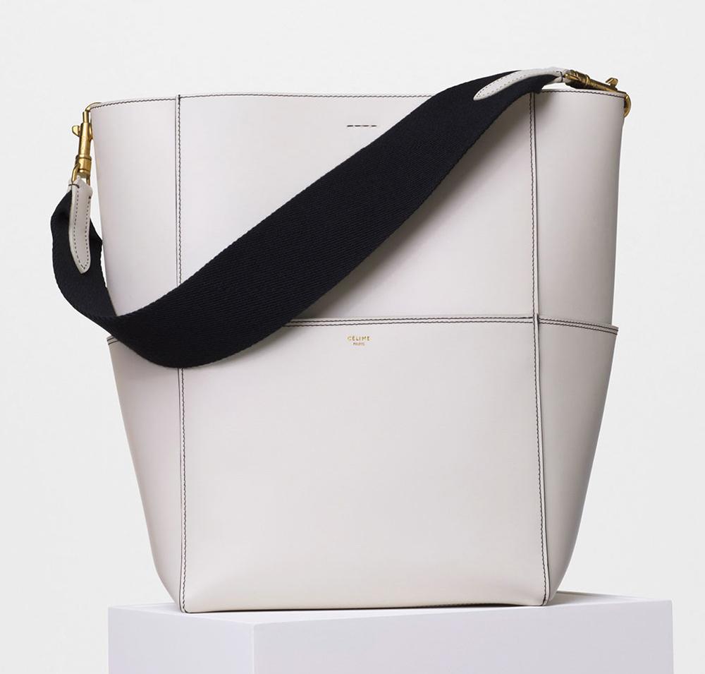 Celine-Seau-Sangle-Shoulder-Bag-White-2550