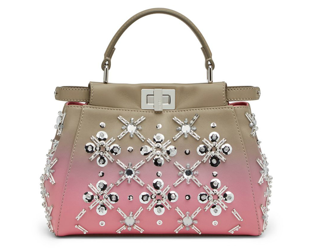 Fendi-Embellished-Ombre-Mini-Peekaboo-Bag