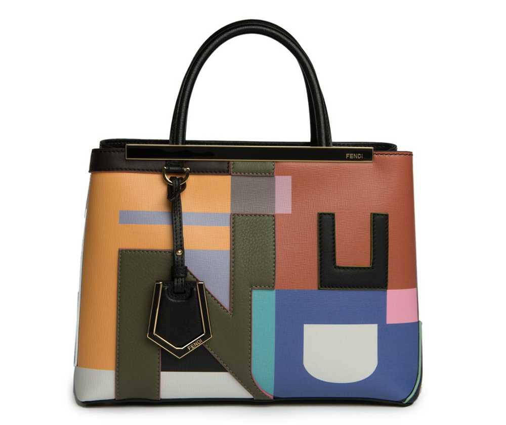 Fendi-Petite-2Jours-Abstract-Tote