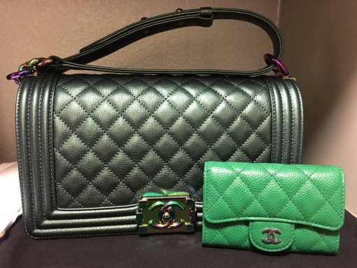 Green-Chanel-Bags