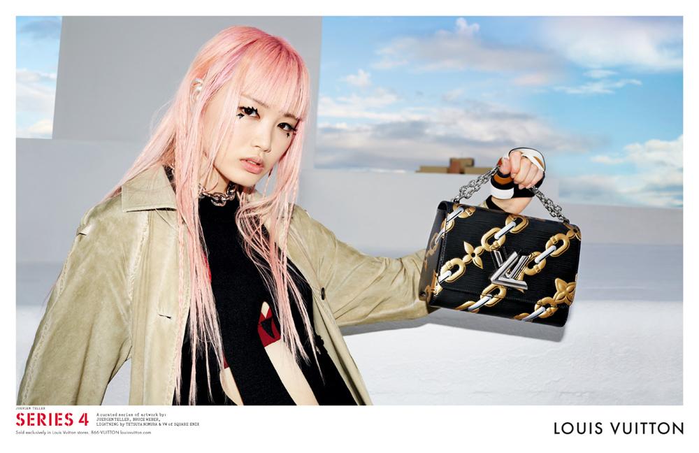 white prada bags - Louis Vuitton's Spring 2016 Ads Stars a Final Fantasy Character ...