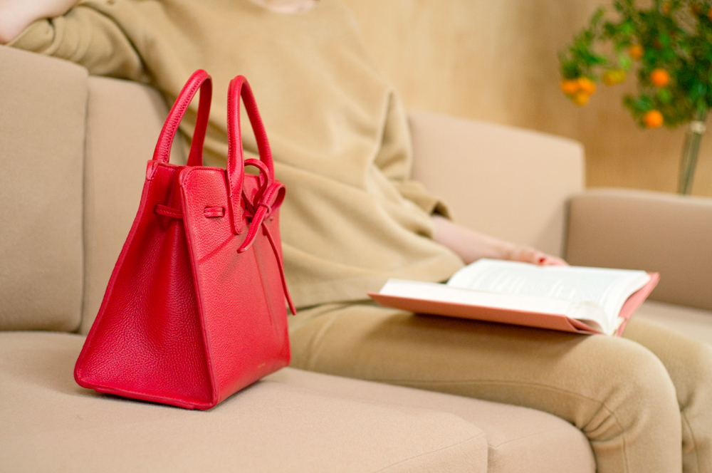 celine classic leather bag price - Mansur Gavriel Debuts Patent and Suede Bucket Bags and More for ...