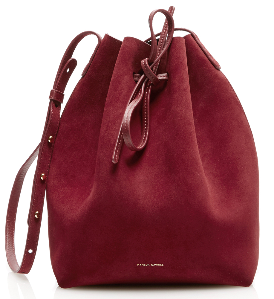 Mansur Gavriel Debuts Patent and Suede Bucket Bags and More for ...
